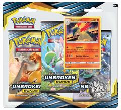 Sun & Moon - Unbroken Bonds 3 Pack Blister