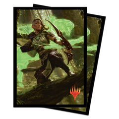 Ultra Pro - MTG Core Set 2020 Vivien, Arkbow Ranger 80 Count Standard Sleeves (UP18103)