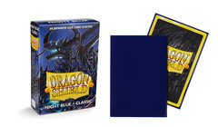Dragon Shield Night Blue Delphion (Japanese) Classic Sleeves (Box of 60)
