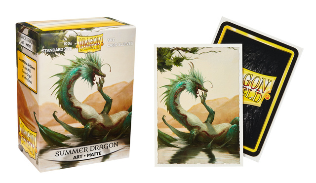 Dragon Shield Summer Dragon Matte Art Sleeves (Box of 100)