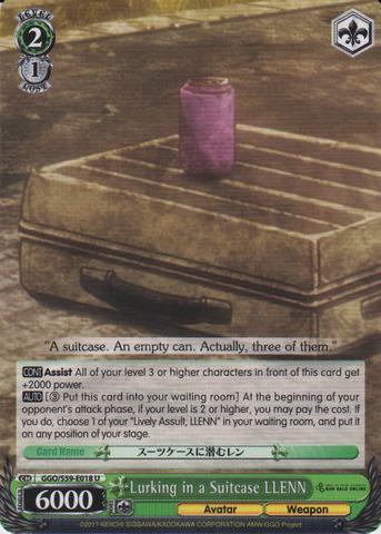 GGO/S59-E018 U Lurking in a Suitcase, LLENN
