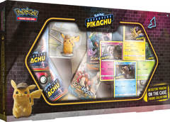 Detective Pikachu 'On The Case' Figure Collection Box
