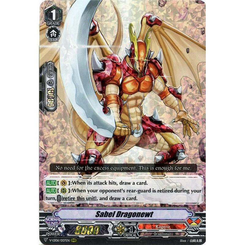 Sabel Dragonewt - V-EB06/007EN - RRR