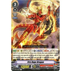 Fire Rage Dragon - V-EB06/022EN - R on Channel Fireball