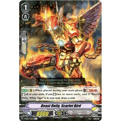Beast Deity, Scarlet Bird - V-EB06/026EN - R on Channel Fireball