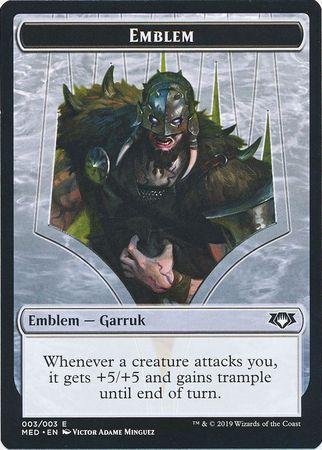 Emblem - Garruk, Apex Predator