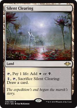 Silent Clearing - Foil