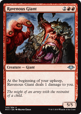 Ravenous Giant - Foil
