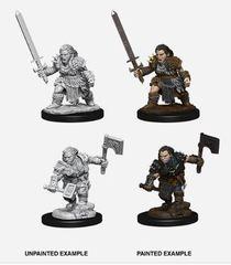 Pathfinder Battles Unpainted Minis - Female Dwarf Barbarian (2)
