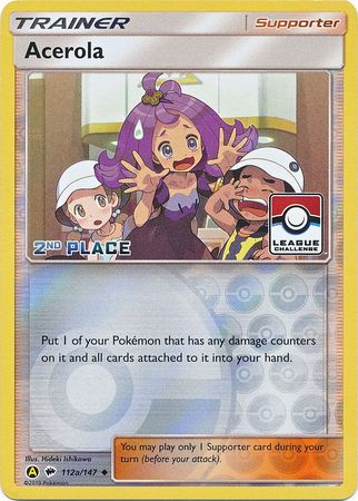 Acerola - 112a/147 - 2nd Place League Promo