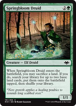 Springbloom Druid - Foil