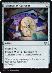 Talisman of Curiosity