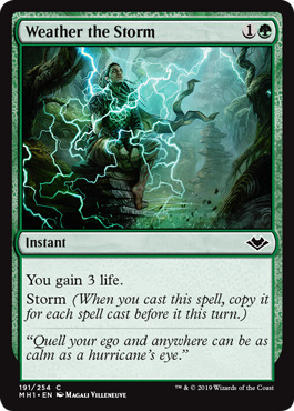 Weather the Storm - Foil