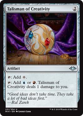 Talisman of Creativity - Foil