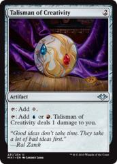 Talisman of Creativity - Foil (MH1)