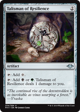 Talisman of Resilience - Foil