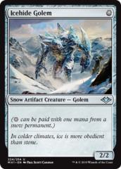 Icehide Golem - Foil