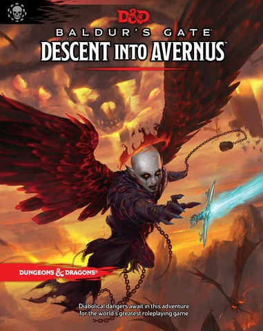 D&D 5th Edition Baldur's Gate Descent Into Avernus