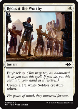 Recruit the Worthy - Foil