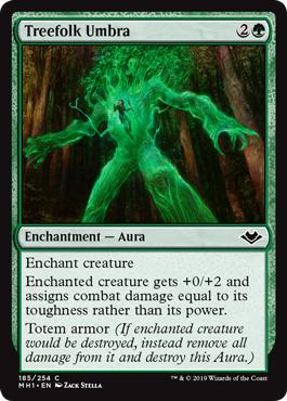 Treefolk Umbra - Foil