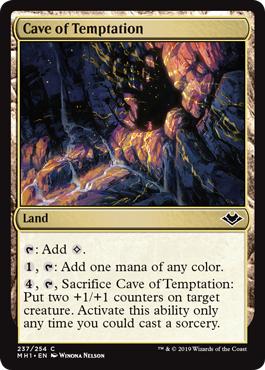 Cave of Temptation - Foil