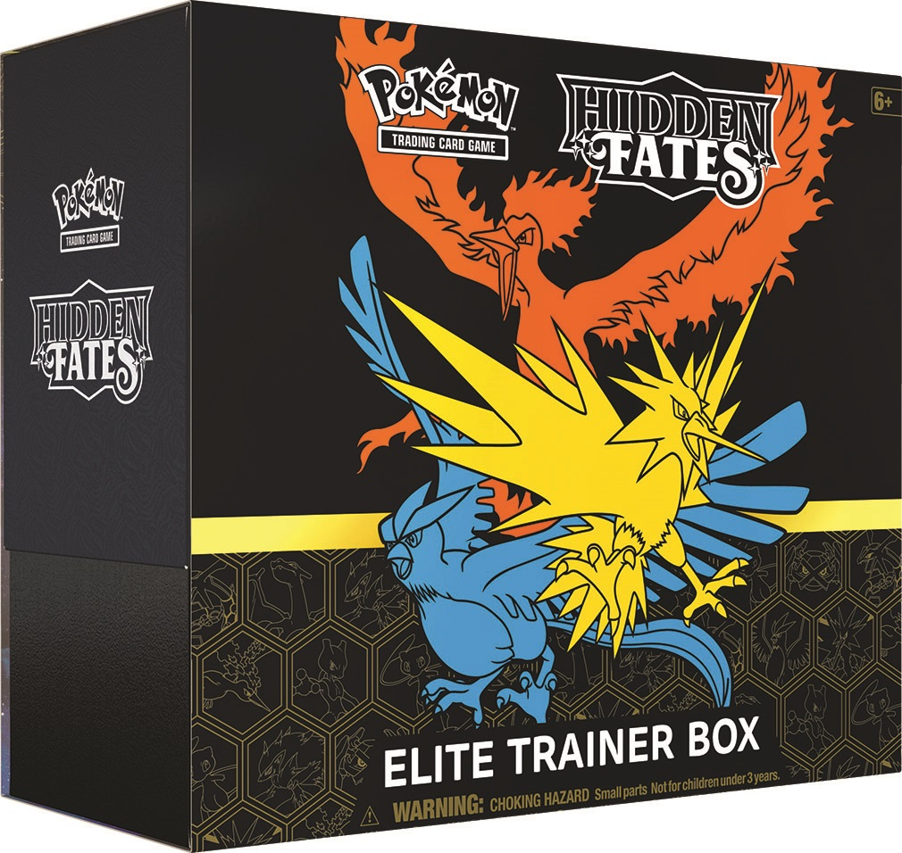 Hidden Fates - Elite Trainer Box