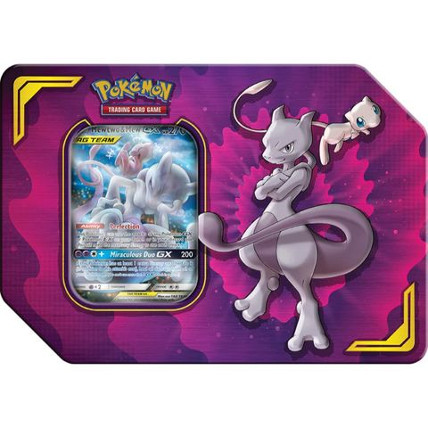 Power Partnership Tin - Mewtwo & Mew GX