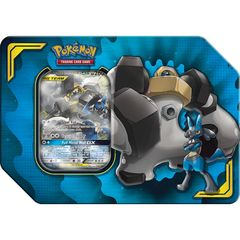 Pokemon Power Partnership Tin - Lucario & Melmetal GX