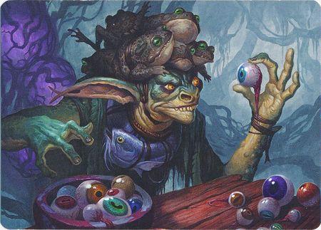 Warteye Witch - Art Series