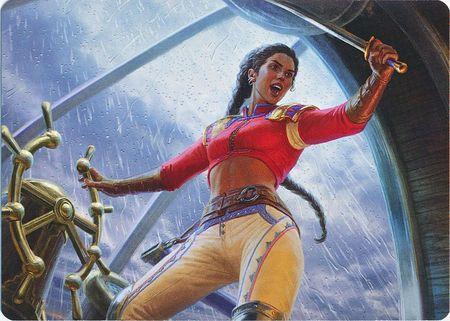 Sisay, Weatherlight Captain - Art Series