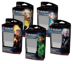 All Five Core Set 2020 Planeswalker Decks