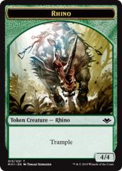 Rhino Token - Foil