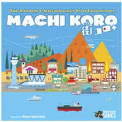 Machi Koro - 5th Anniversary Harbor and Millionnaire's Row Expansions