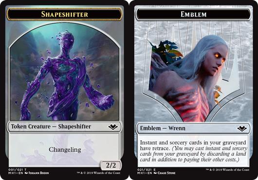 Shapeshifter Token // Emblem - Wrenn and Six Token