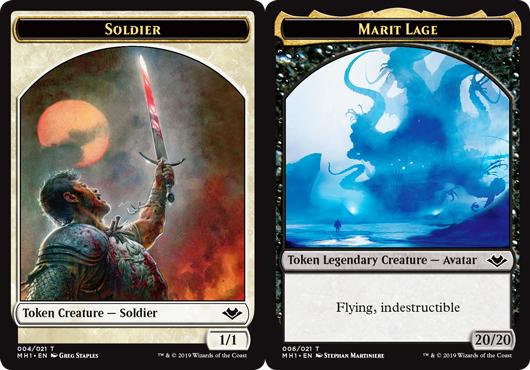 Soldier Token // Marit Lage Token