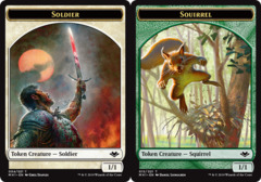 Soldier Token // Squirrel Token
