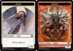 Angel Token // Goblin Token