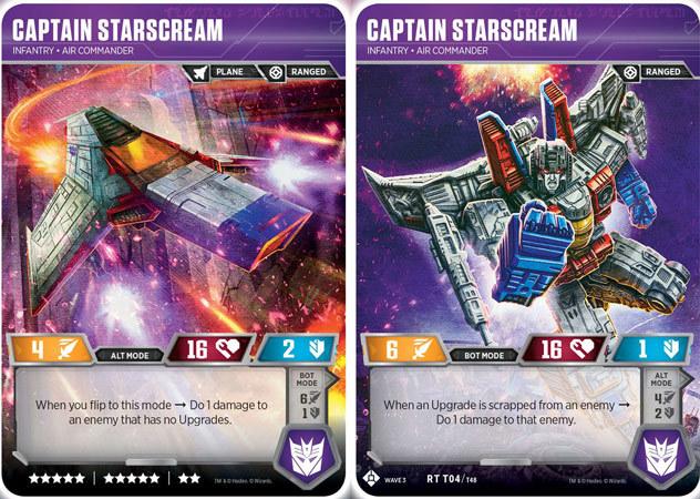 Captain Starscream // Infantry Air Commander