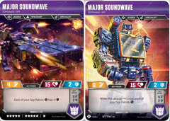 Major Soundwave // Espionage Spy