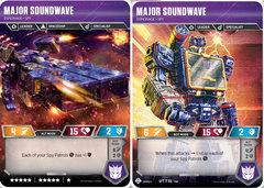 Major Soundwave // Espionage Spy