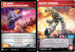 Private Firedrive - Ground Command Artillery // Duo-Charge Electrostatic Photon Cannon