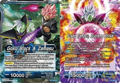 Goku Black & Zamasu // Fused Zamasu, Supreme Strike - BT7-026 - UC