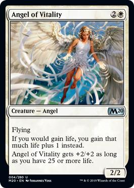 Angel of Vitality - Foil