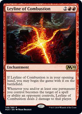 Leyline of Combustion - Foil