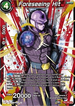 Foreseeing Hit - TB1-008 - SR - Special Anniversary Box - Foil