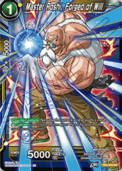 Master Roshi, Forged of Will - TB1-076 - UC - Special Anniversary Box - Foil