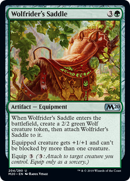 Wolfriders Saddle - Foil