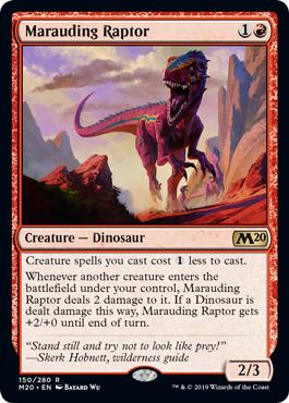 Marauding Raptor - Foil