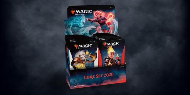 Core Set 2020 Theme Booster Display