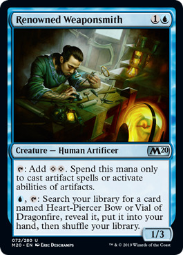 Renowned Weaponsmith - Foil